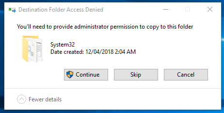 admin permission - Fix any missing .dll file error